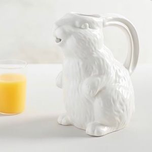 New pottery Barn Easter pitcher